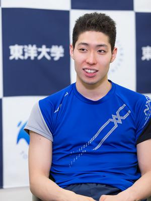 萩野公介選手 | 東洋大学