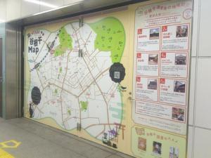 JR日暮里駅構内マップ
