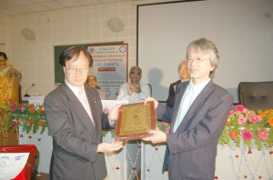 """Fellow"" awarded to Professor Maekawa"