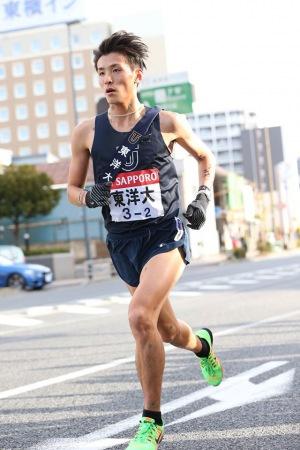 東京マラソンで服部勇馬選手が日...